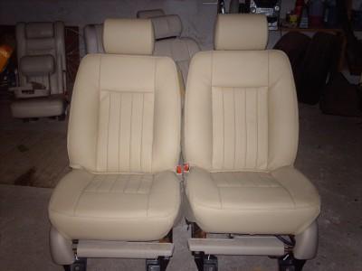 Po restauravimo (priekinės sėdynės)