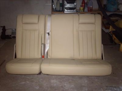 Po restauravimo (galinė sėdynė)