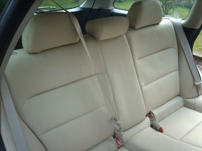 Subaru Forester galinės sėdynės